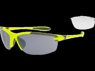 HOTBIRD E660-2 polycarbonate matt neon yellow / grey