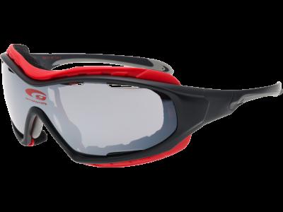 NEMEZIS T651-1 grilamid TR90 matt black / red