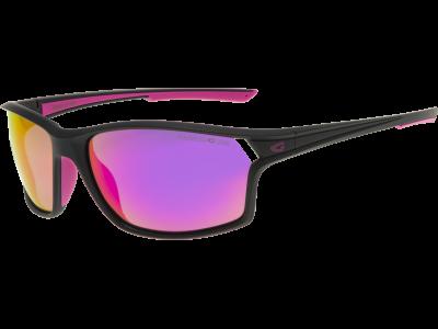 MIKALA E109-2P polycarbonate matt black / pink